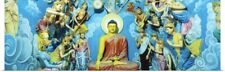 Poster Print Wall Art entitled Buddhist Temple Sri Pushparama Sri Lanka