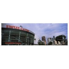 Poster Print Wall Art entitled Staples Center, City Of Los Angeles, Los Angeles