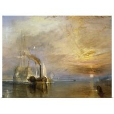Poster Print Wall Art entitled The Fighting Temeraire Tugged to her Last Berth