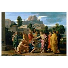 Poster Print Wall Art entitled The Blind of Jericho, or Christ Healing the