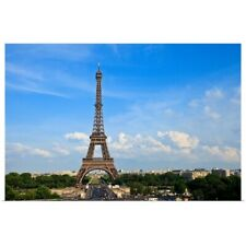 Poster Print Wall Art entitled View of Eiffel Tower in Paris, France.