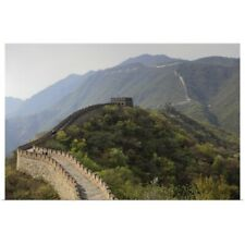 Poster Print Wall Art entitled Mutianyu section of the Great Wall of China