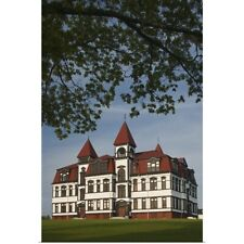 Poster Print Wall Art entitled Lunenburg Academy, Lunenburg, Nova Scotia, Canada