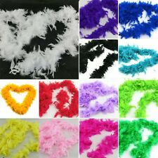 Nice Hot Fluffy Feather Boa Dressup Wedding Party Burlesque Fancy Dress Boas L25