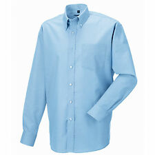 Russell Collection J932M Long Sleeve Mens Oxford Shirt