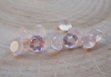 3mm to 15mm Natural Rose Quartz Round Calibrated Size Pink Color Loose Gemstone