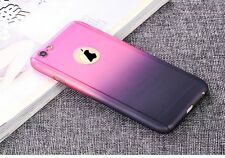Full Protection 360 Degree Gradient Color Hard Case Cover For iPhone 6 6s Plus
