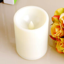 New Indoor/Outdoor Flameless Pillar Resin led Candle Light with 4 & 8 Hour Timer