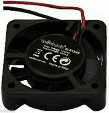 80mm Sq Fan, 12V DC, 140mA, 3500RPM, reprap, Wilson,Velleman, (28F067), NEW