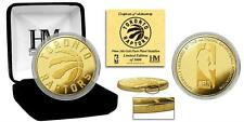 Highland Mint Your Favorite NBA Teams 24KT Gold Plated Commemorative Mint Coin