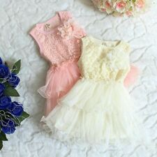 Baby clothes infant baby girl summer dress  party layered  Pageant dress flower