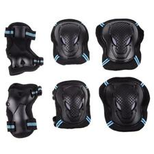 6pcs Skateboard Roller Blading Elbow Knee Wrist Protective Safety Gear Pad Guard