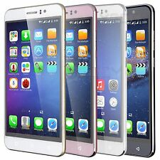 """Quad Core 5.5"""" Smartphone Android 5.1 Unlocked Dual SIM 3G GSM Cell Phone GPS"""