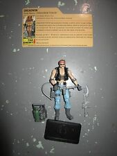 G.I. JOE COBRA 25TH ANNIVERSARY COMIC PACK TORCH DREADNOK FIGURE W/ ACCESSORIES