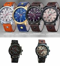 New Men's Fashion Sport watch Waterproof Analog Quartz Wrist Watch Casual