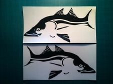 """(2) Snook boat Decals large vinyl graphics fish sticker fishing color choice 12"""""""