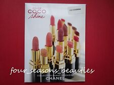 Chanel ROUGE COCO Creme Lip Colour~ROUGE COCO SHINE Hydrating Sheer Lipshine PIK