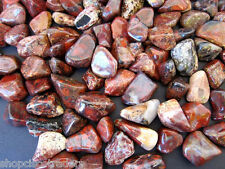 Brecciated Jasper LG 25mm Tumbled Stone QTY7 Healing Crystal Grounding Dreamwork