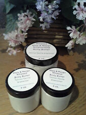 WHIPPED BODY BUTTER w/ Shea and Mango Butters - Tahatian Vanilla & Lavender