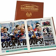 Personalised A3 Colour Football Newspaper Book Gift For Christmas/Dad/Husband