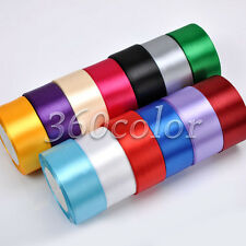 "1 Roll 25 Yards 1.5"" 38mm Satin Ribbon Bow Wedding Party Craft Sewing Decoration"