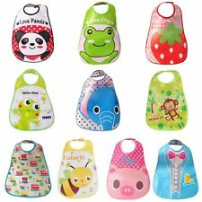 Waterproof Baby Cartoon Bib Infant Kid Saliva Towel Newborn Feeding Bribble bibs