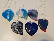 Fire Agate, Stripe,Onyx & Dragon Vein Agate Necklaces Expedited Ship Available
