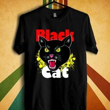 Black Cat Fireworks Retro Logo T-shirt tee Size S to 3XL