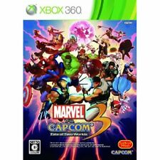 Used Xbox360 Marvel vs. Capcom 3: Fate of Two Worlds Japan Import