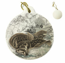 Wicked Fish - Wicked Fuke - Christmas Xmas Tree Porcelain Ornaments