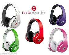 Beats By Dr. Dre Studio 2013 MODEL WIRED OVER EAR Headband Headphones.