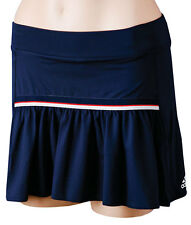 NWT WOMENS ADIDAS SEQUENTIALS CORE TENNIS RUNNING SKIRT SKORT SHORTS Z36158