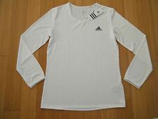 Adidas CLIMALITE TENNIS Golf RUNNING ATHLETIC SHIRT Warm up Long Sleeve Top $45