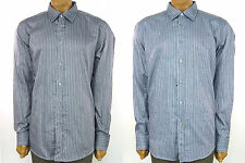 "BOSS by HUGO BOSS ""Oberto"" REGULAR FIT Striped Long Sleeve Button Front Shirt"