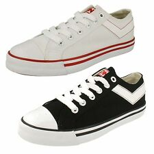 MENS PONY SHOOTER LO CASUAL CANVAS LACE UP SHOES/TRAINERS/PUMPS 8102122171/74