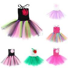 Lovely Baby Girl Summer Tutu Dress Sleeveless Princess Party Skirt Newborn to 5Y