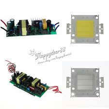 10W~100W High Power LED Constant Current Driver Supply White/Blue LED Chip Light