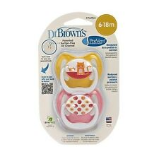 Dr. Browns Dr. Brown's BPA Free PreVent 6-12 Months 2 Pack Orthodontic Pacifier