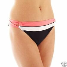 Arizona Colorblock Side-Loop Hipster Swim Bottoms Size XL New Msrp $28.00