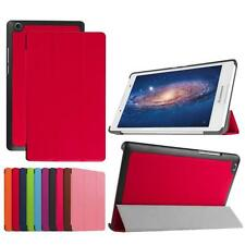 Slim Leather Flip Stand Case Cover Skin For Lenovo Idea Tab2 A8-50 Tablet PC