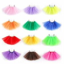 Nice Kids Girl 3 Layer Tutu Ballet Dance Dress Skirt Pettiskirt New Costume 2-7Y