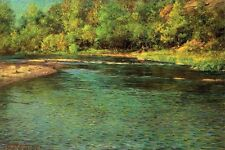 Handmade Classical Ottis Adams Landscape Oil Painting repro on Canvas Art-014