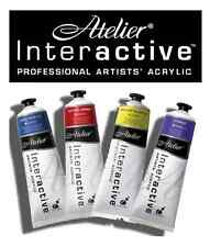 Atelier Interactive Acrylic Paints 80ml Tubes S1 - All Series1 Colours Available