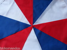 Red White Blue Fabric Bunting UK Great Britain England Union Jack Flag NEW