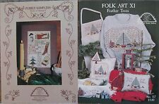 Homespun Elegance  Counted Cross-Stitch Pattern  Assorted Designs