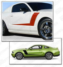 Ford Mustang 2010-2014 Side Roush 427R Style Stripes Decals (Choose Color)