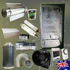 Hydroponics 600w HPS MH Lamp Air Cooled Tube Fan Carbon Filter Grow Tent Combo