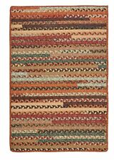Colonial Mills Olivera Rectangle Cotton Country Braided Rug Warm Chestnut OV89