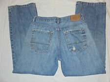 MENS-OLD NAVY-LOOSE FIT DISTRESSED-JEANS-SIZE--31 X 30 ACTUAL--31 X 32 TAG SIZE