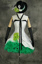 a-293 VOCALOID 2 Megpoid Gumi Cosplay costume Cocktail dress costume n. Scale